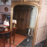 French guilded mirror . 900 euro